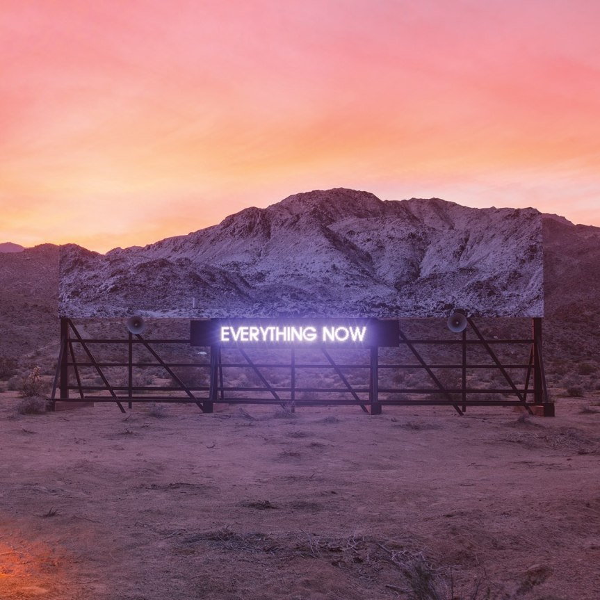 Album Review: Arcade Fire, Everything Now