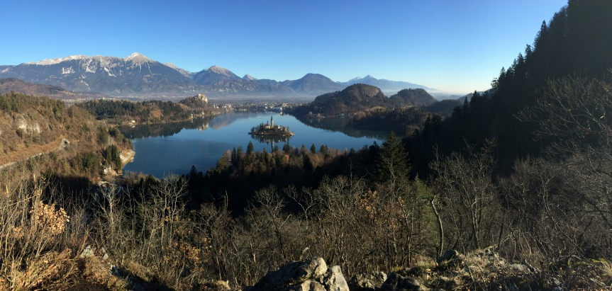 A winter weekend in Bled,Slovenia