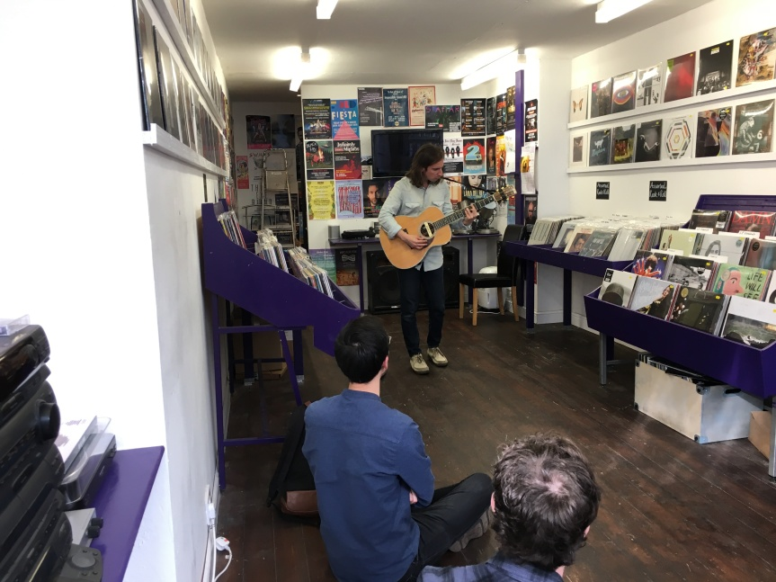 Adam Torres stops by Glasgow's LP Records for intimate instoreperformance